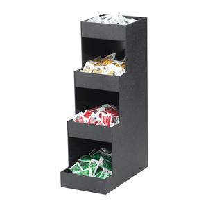 Classic Coffee Amenity Condiment Display 3-Tier - Home Of Coffee