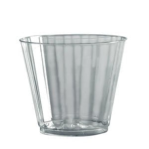 Classicware® Crystal™ Squat Fluted Tumbler 9 oz - Home Of Coffee