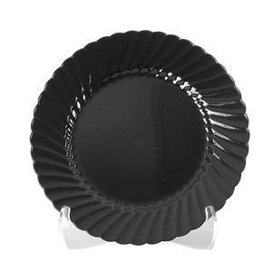 "Classicware® Plate Black 6"" - Home Of Coffee"