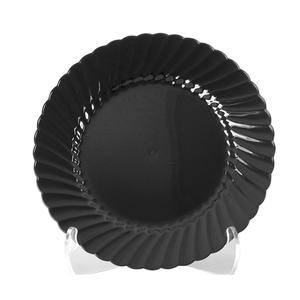 "Classicware® Plate Black 9"" - Home Of Coffee"