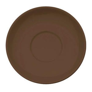 "Cremaware Saucer Brown 6 1/2"" - Home Of Coffee"