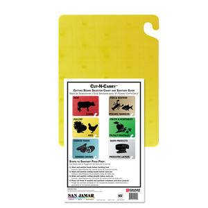"Cut-N-Carry® Board Yellow 18"" x 24"" - Home Of Coffee"