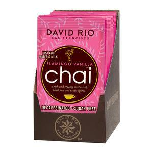 David Rio Flamingo Vanilla™ Chai Decaf Sugar Free - Home Of Coffee