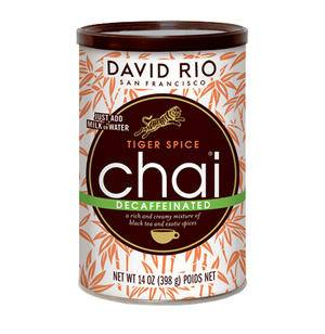 David Rio Tiger Spice Chai Decaf - Home Of Coffee