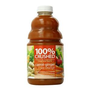 Dr. Smoothie® 100% Crushed® Carrot Ginger - Home Of Coffee