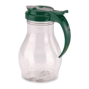 Dripcut® Server Clear with Green Top 16 oz - Home Of Coffee