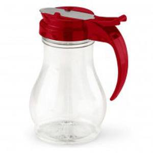 Dripcut® Server Clear with Red Top 16 oz - Home Of Coffee