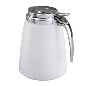 Dripcut® Server White with Chrome Top 48 oz - Home Of Coffee