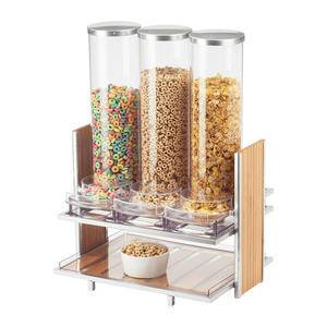 Eco Modern Cereal Dispenser 3-Bin - Home Of Coffee