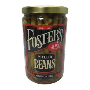 Foster's Pickled Green Beans - Home Of Coffee