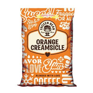 Frozen Bean Orange Creamsicle - Home Of Coffee