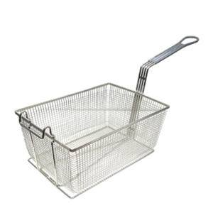Fry Basket Gray Handle - Home Of Coffee