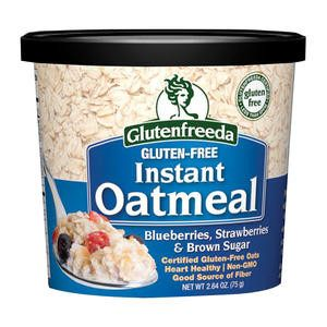 Glutenfreeda Oatmeal Blueberry Strawberry Brown Sugar - Home Of Coffee