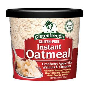 Glutenfreeda Oatmeal Cranberry Apple with Walnuts and Cinnamon - Home Of Coffee
