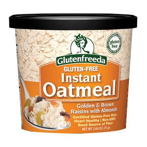 Glutenfreeda Oatmeal Golden and Brown Raisins with Almonds - Home Of Coffee