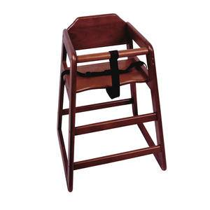 High Chair Mahogany Assembled - Home Of Coffee