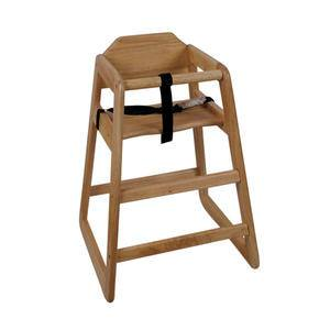 High Chair Natural Assembled - Home Of Coffee