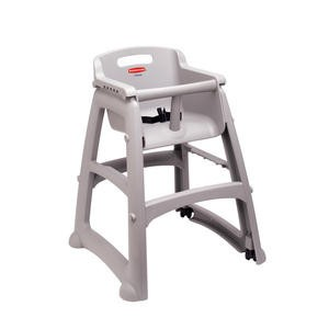 High Chair without Wheel Platinum - Home Of Coffee