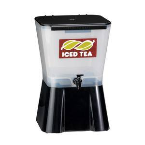 Iced Tea Dispenser White/Black 3 gal - Home Of Coffee