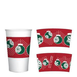 Java Jacket® Holiday Ornaments 12-20 oz - Home Of Coffee
