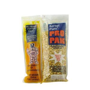 Kernel Pops Pro Pak Yellow Coconut Popcorn Portion Pack 10.6 oz - Home Of Coffee