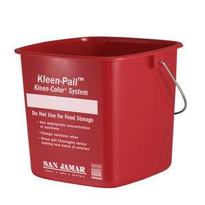 Kleen-Pail® Red 10 qt - Home Of Coffee
