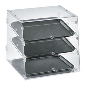 Knock Down Display Case 3 Tray - Home Of Coffee