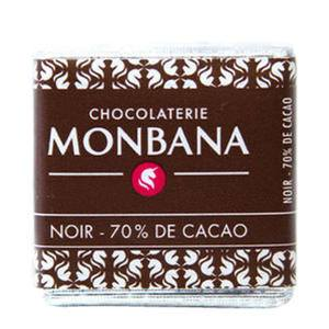 Monbana Dark Chocolate Squares - Home Of Coffee