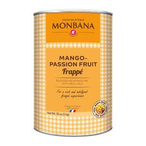 Monbana Mango Passion Fruit Frappe - Home Of Coffee