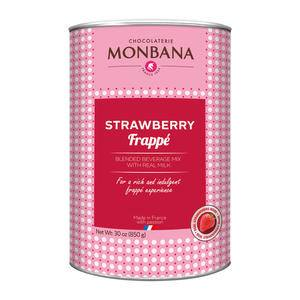 Monbana Strawberry Frappe - Home Of Coffee