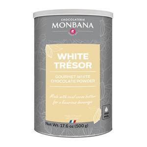 Monbana Tresor White Hot Chocolate - Home Of Coffee