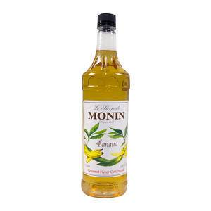 Monin® Banana Syrup PET - Home Of Coffee