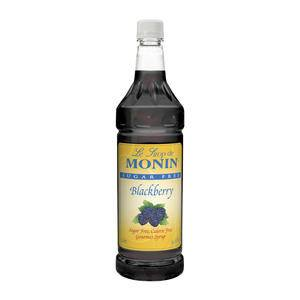 Monin® Blackberry Syrup Sugar Free PET - Home Of Coffee