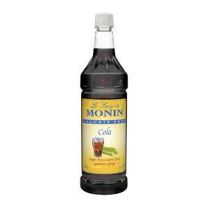 Monin® Cola Syrup Calorie Free PET - Home Of Coffee
