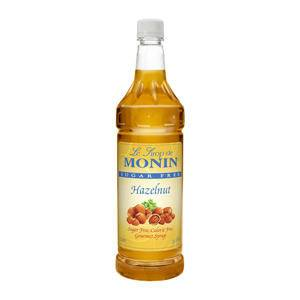 Monin® Hazelnut Syrup Sugar Free PET - Home Of Coffee