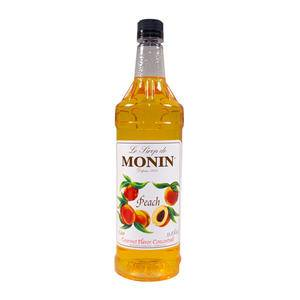 Monin® Peach Syrup PET - Home Of Coffee
