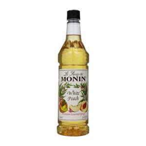 Monin® White Peach PET - Home Of Coffee