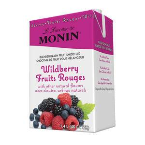 Monin® Wild Berry Fruit Smoothie Mix - Home Of Coffee
