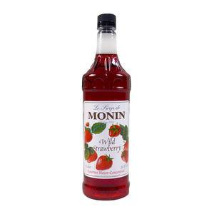 Monin® Wild Strawberry Syrup PET - Home Of Coffee