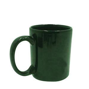 Mug Dark Green 11 oz - Home Of Coffee
