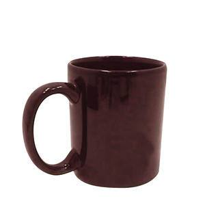 Mug Maroon 11 oz - Home Of Coffee