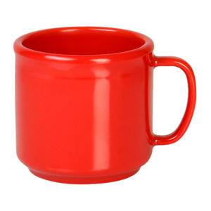 Mug Pure Red 10 oz - Home Of Coffee