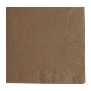 "Napkin 2-Ply Natural 10"" x 10"" - Home Of Coffee"