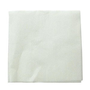 "Napkin Cocktail Crepe White 10"" x 10"" - Home Of Coffee"