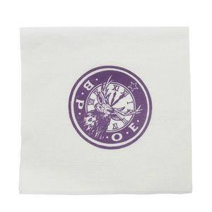 "Napkin Cocktail Elks 10"" x 10"" - Home Of Coffee"