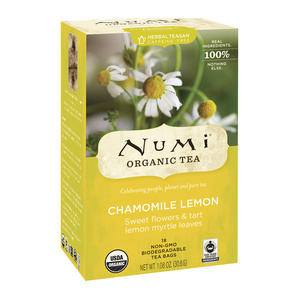 Numi® Chamomile Lemon Caffeine Free Tea - Home Of Coffee