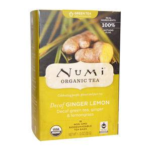 Numi® Decaf Lemon Ginger Tea - Home Of Coffee