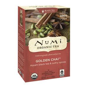 Numi® Golden Chai Tea - Home Of Coffee