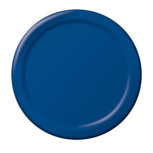 "Paper Plate Navy 10"" - Home Of Coffee"