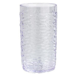 Pebble Optic™ Tumbler Clear 12 oz - Home Of Coffee